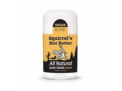 Squirrel's Nut Butter Anti Chafe Salve, Stick, 1.7 oz