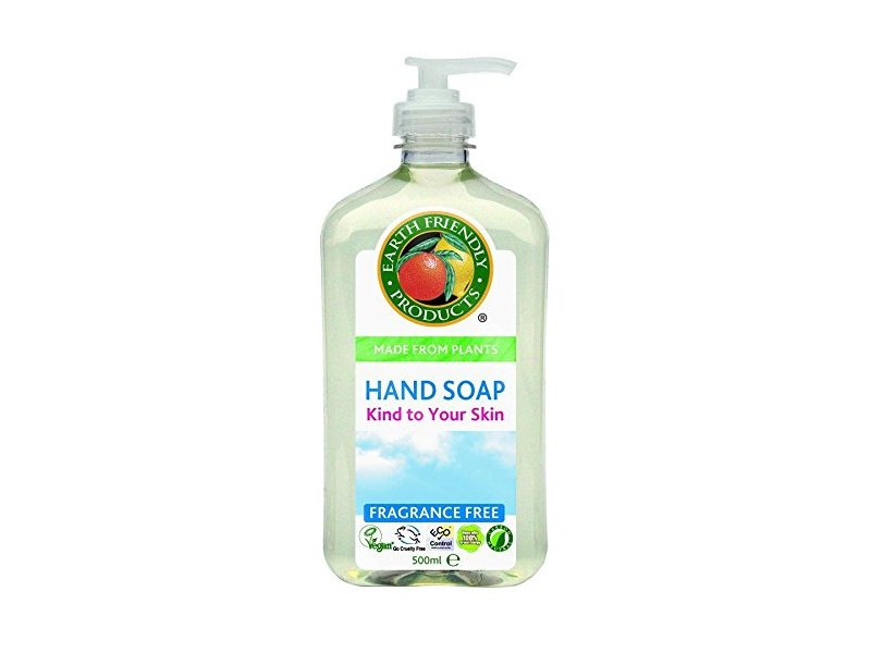 Earth Friendly Products Hand Soap, Fragrance-Free, 500ml