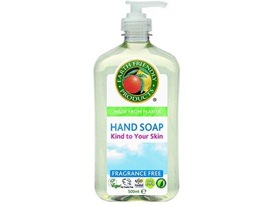Earth Friendly Products Hand Soap, Fragrance-Free, 500ml - Image 1
