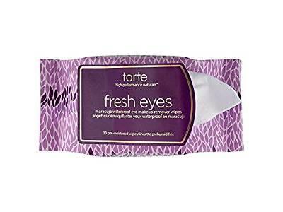 Tarte Fresh Eyes Maracuja Waterproof Eye Makeup Remover Wipes, 30 count
