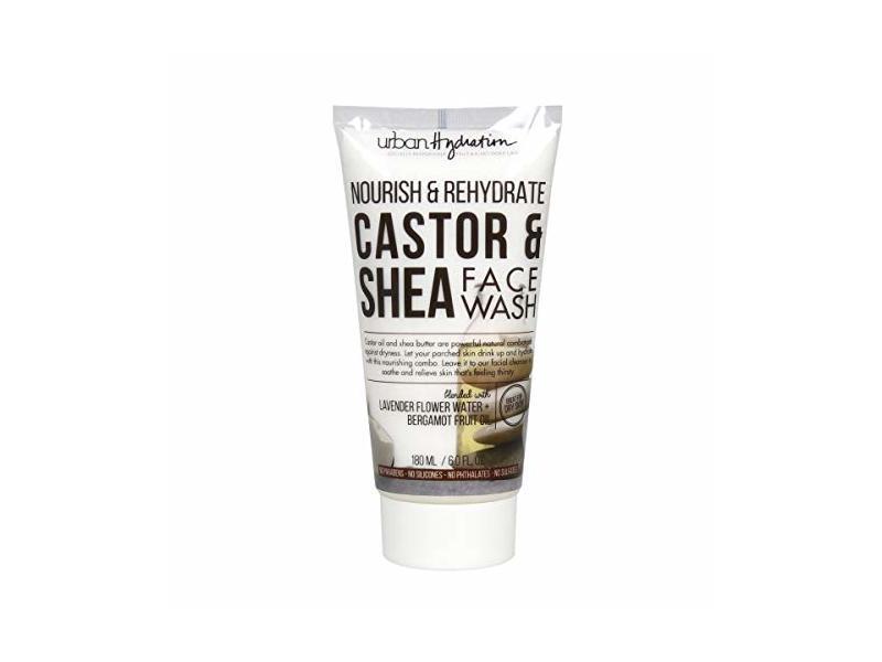 Urban Hydration Nourish & ReHydrate Castor & Shea Face Wash, 6.0 fl oz