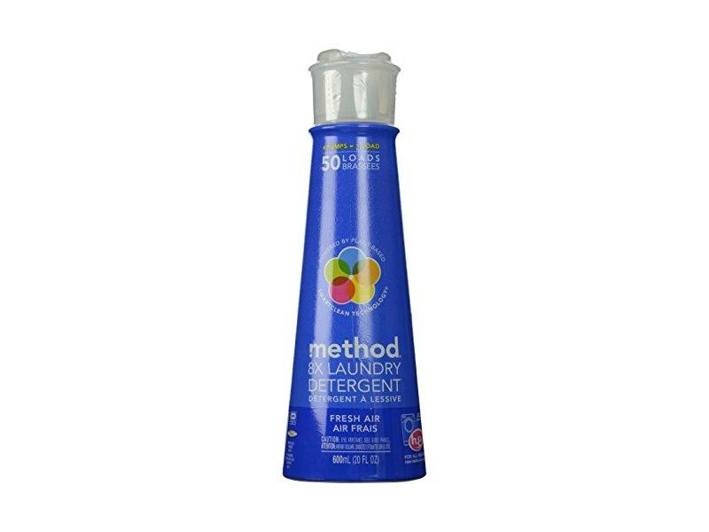 Method 8x Laundry Detergent Pump Fresh Air 20 Fl Oz