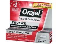 Orajel Severe Toothache & Gum Relief Cream, 0.33 Oz - Image 3