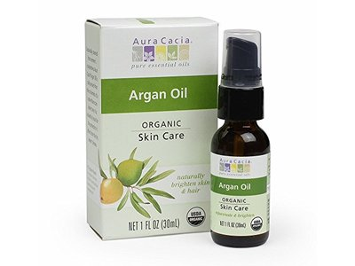 Aura Cacia Organic Skin Care Oil, Argan, 1 Fluid Ounce - Image 1