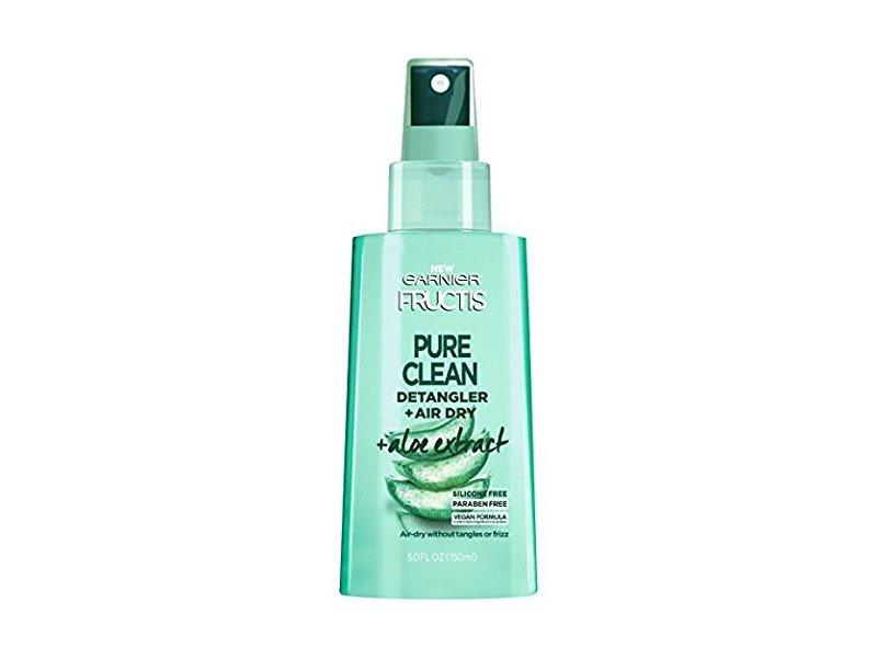 Garnier Fructis Pure Clean Detangler + Air Dry, Aloe Extract, 5 fl. oz.