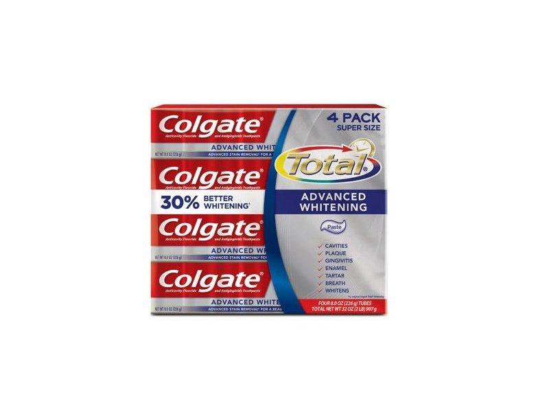Colgate Total, Advanced Whitening Toothpaste, 8 oz
