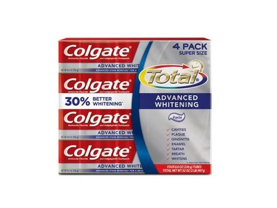 Colgate Total, Advanced Whitening Toothpaste, 8 oz