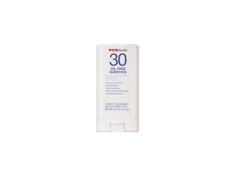 CVS Health Oil-Free Broad Spectrum Sunscreen Sunstick, SPF 30