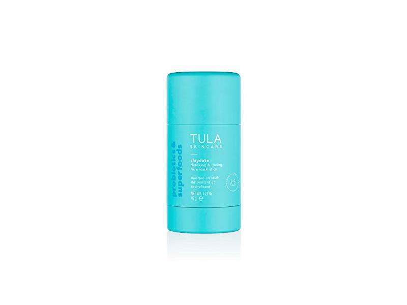 Tula Probiotic Skin Care Claydate Detoxing & Toning Face Mask Stick, 1.23 oz / 35 g