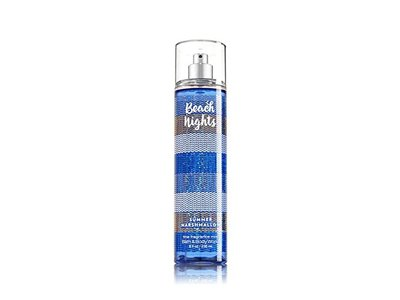 Bath and Body Works Beach Nights Summer Marshmallow Body Spray Mist, 8 Ounce