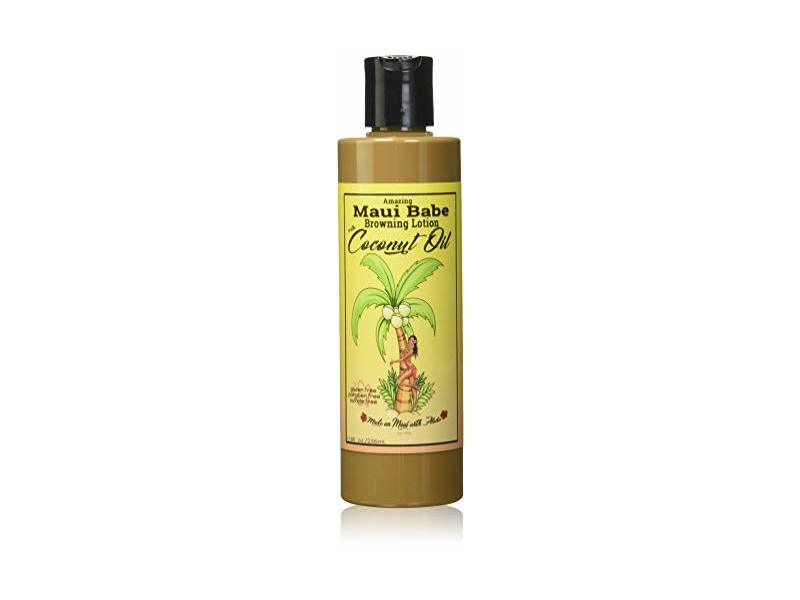 Maui Babe Browning Lotion, Coconut Oil, 8 fl oz/236 mL