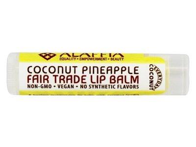 Alaffia Coconut Pineapple Lip Balm, 0.15 Ounce