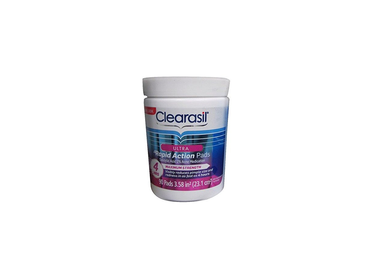 Clearasil Rapid Rescue Deep Acne Treatment Cleansing Wipes ...