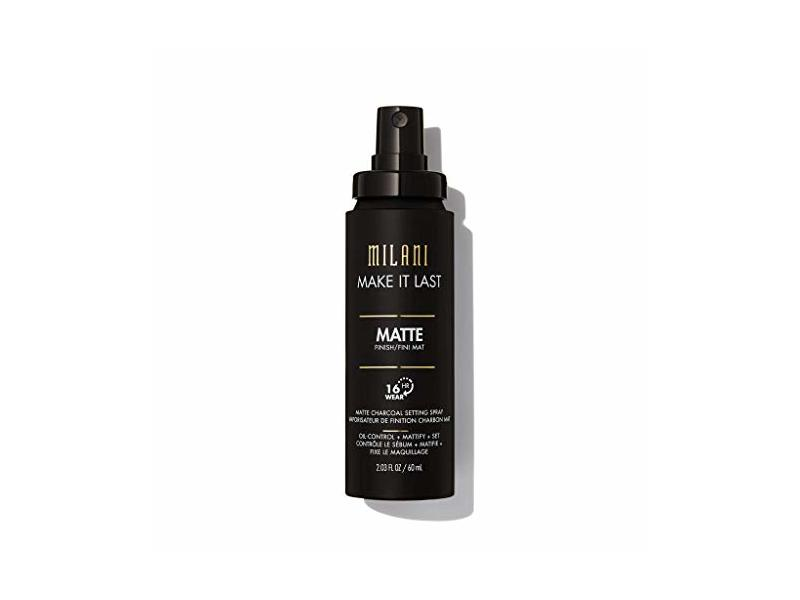 Milani Make It Last Matte Charcoal Setting Spray, 2.03 fl oz