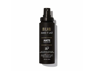 Milani Make It Last Matte Charcoal Setting Spray, 2.03 fl oz