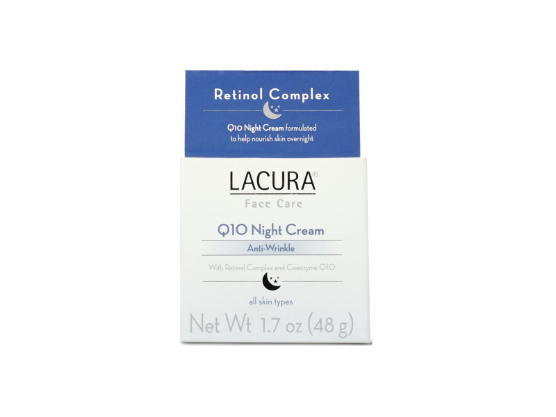 Lacura Anti-Wrinkle Q10 Night Cream, 1.7 oz