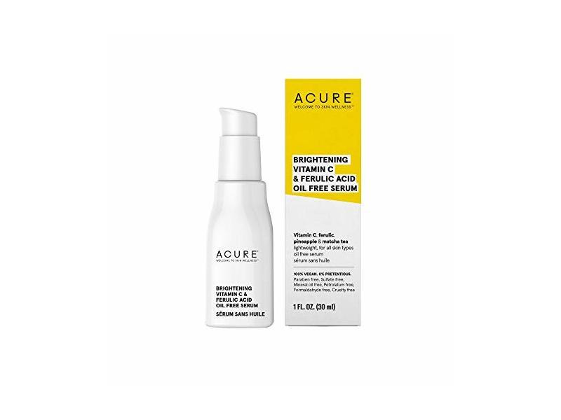 ACURE Brightening Vitamin C & Ferulic Acid Serum, 1 OZ
