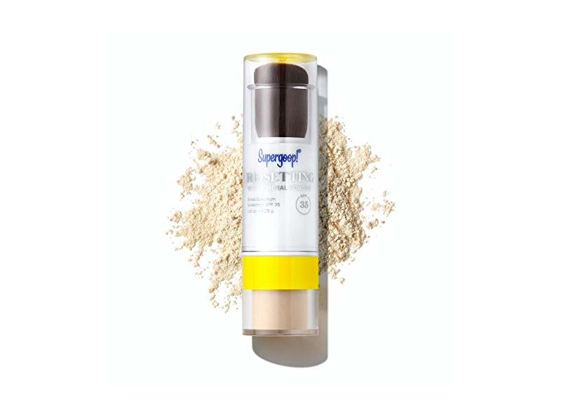 Supergoop! (Re)Setting 100% Mineral Powder, SPF 35, Translucent, 0.15 oz/4.25 g