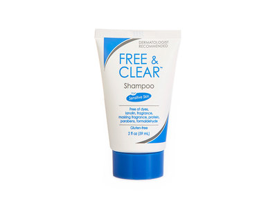 Free & Clear Shampoo for Sensitive Skin, 2 fl oz - Image 1