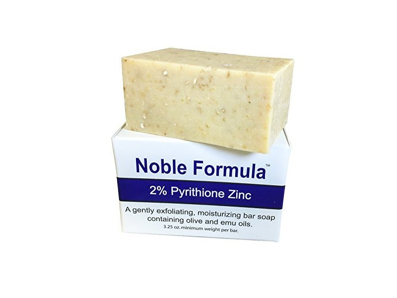 Noble Formula 2% Pyrithione Zinc Bar Soap, 9 oz