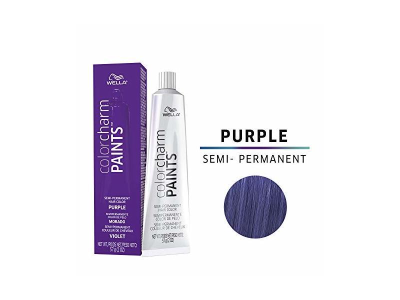 Wella Paints Purple Semi Permanent Hair Color Purple