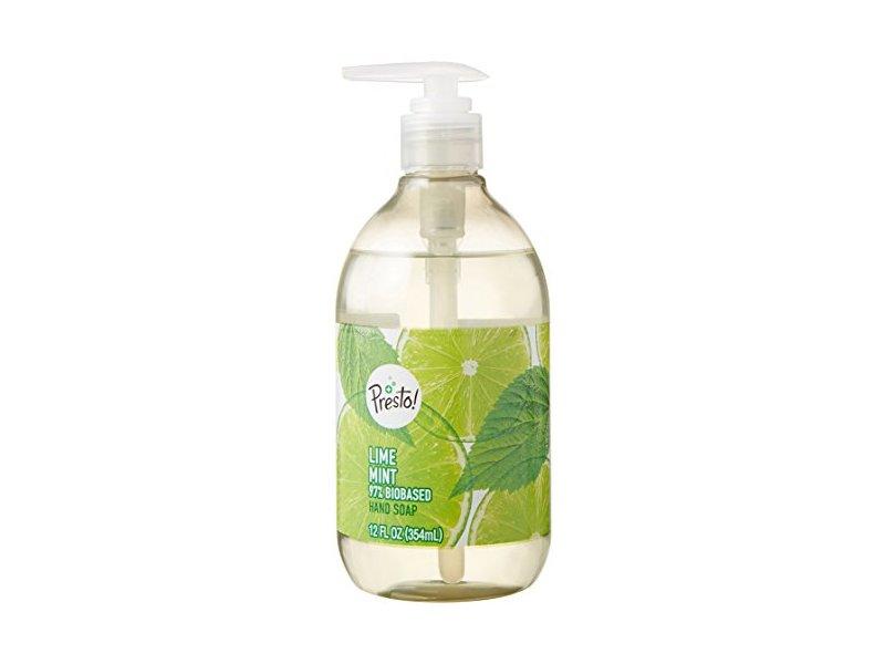 Presto! Biobased Hand Soap, Lime Mint Scent