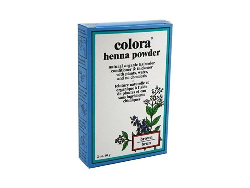 Colora Henna Powder Hair, Brown, 2 oz (6 Pack)