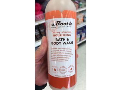 c. Booth Nourishing Bath & Body Wash, Honey Almond 16 oz (Pack of 11) - Image 3