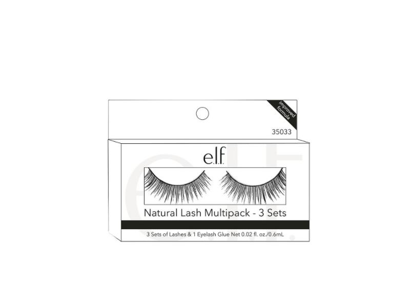 Elf Natural Lash Multipack Lashes Eyelash Glue 002 Fl Oz 3