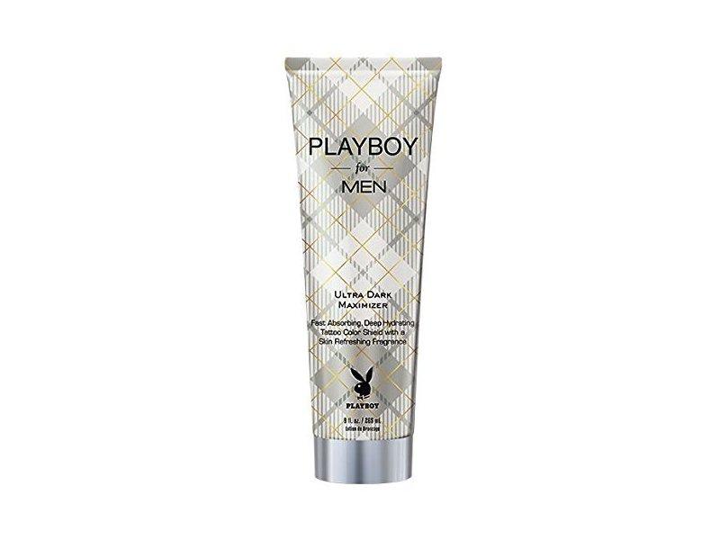 Playboy For Men Ultra Dark Maximizer Tanning Lotion, 0.75 fl oz/22 ml