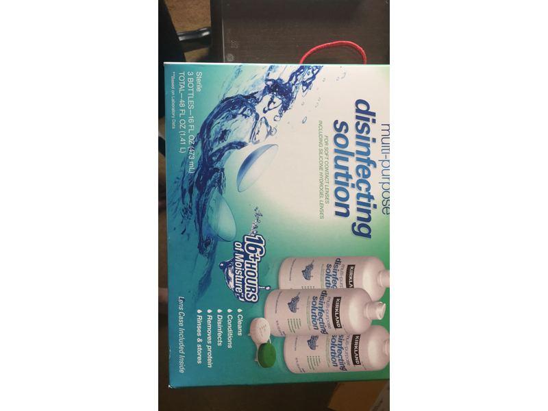Kirkland Signature Multipurpose Disinfecting Solution, 16 fl oz