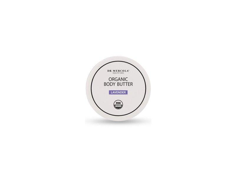 Dr. Mercola: Organic Natural Body Butter, Lavender 4 oz