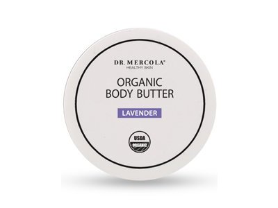 Dr. Mercola: Organic Natural Body Butter, Lavender 4 oz