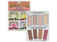 theBalm Highlite 'N Con Tour Highlight & Contour Palette - Image 2