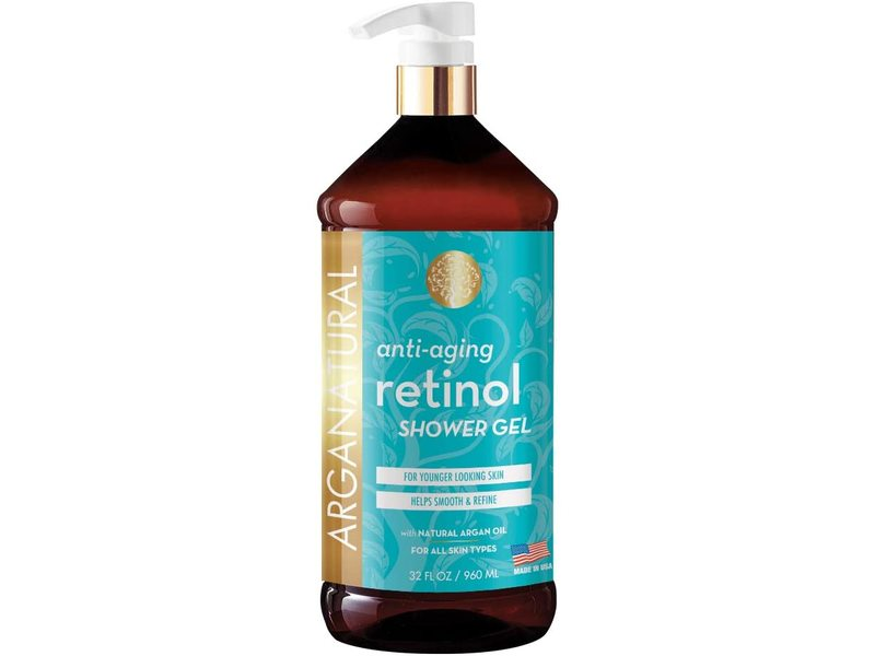 Arganatural Retinol Shower Gel, 32 fl oz/960 ml
