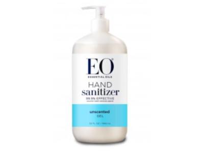 EO Essential Oils Hand Sanitizer Gel, Unscented, 32 fl oz - Image 1