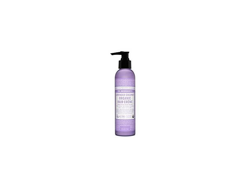 Dr. Bronner's Lavender & Coconut Hair Conditioner & Styling Creme, 6 fl oz