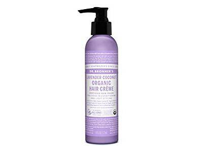 Dr. Bronner's Lavender & Coconut Hair Conditioner & Styling Creme, 6 fl oz