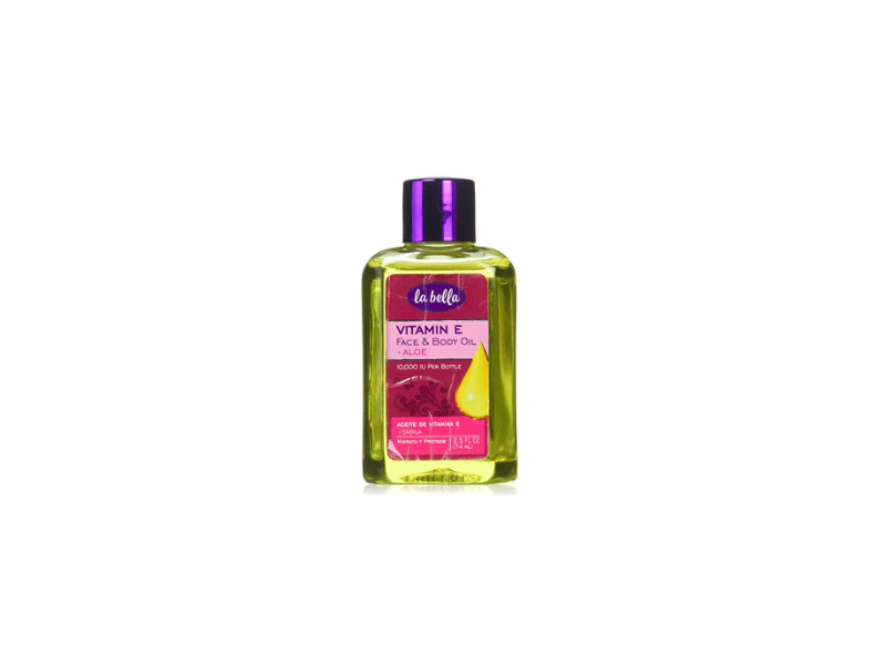 La Bella Vitamin E with Aloe Oil, 2.5 fl oz