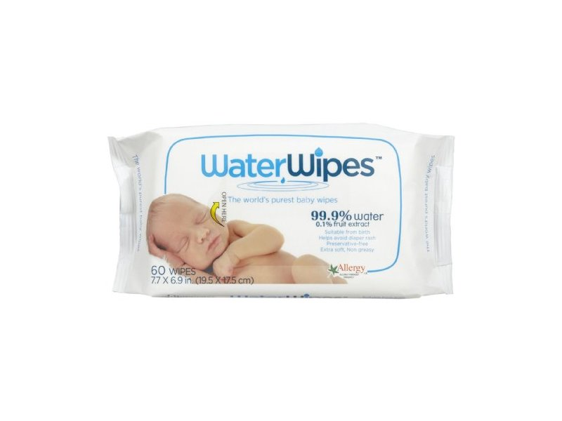 WaterWipes Baby Wipes, 60 Count