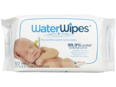 WaterWipes Baby Wipes, 60 Count - Image 1