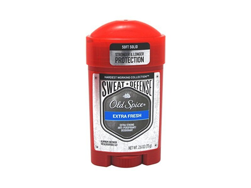 Old Spice Hardest Working Collection Sweat Defense Anti-Perspirant and Deodorant, Extra Fresh, 2.6 oz