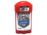 Old Spice Hardest Working Collection Sweat Defense Anti-Perspirant and Deodorant, Extra Fresh, 2.6 oz - Image 2