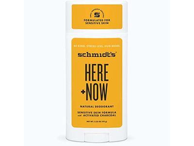 Schmidt's Here Plus Now Natural Deodorant Sensitive Skin Formula, 3.25 oz (92 g)