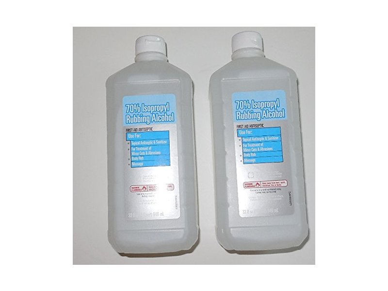 70 % Rubbing Alcohol Isopropyl 2x32 Oz, Walmart