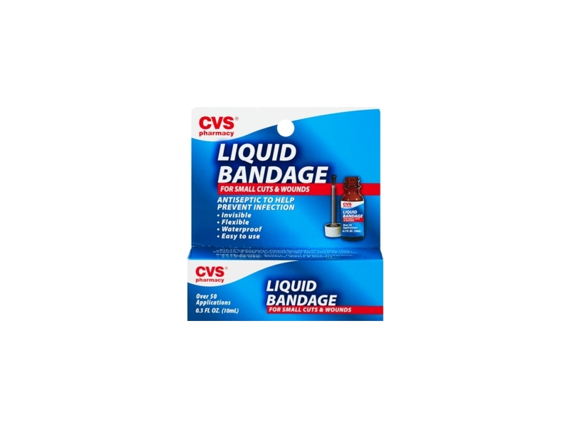 Cvs Health Liquid Bandage 03 Fl Oz Ingredients And Reviews