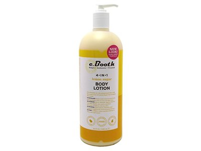 C. Booth 4-In-1 Multi-Action Body Lotion Lemon Sugar 32 Ounce