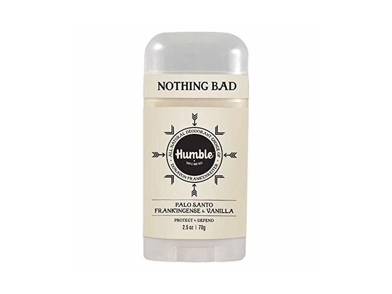 Humble All Natural Deodorant, Palo Santo, Frankincense & Vanilla, 1-Pack