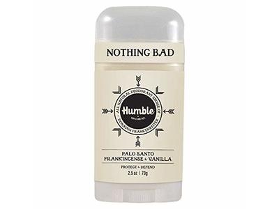 Humble All Natural Deodorant, Palo Santo, Frankincense & Vanilla, 1-Pack