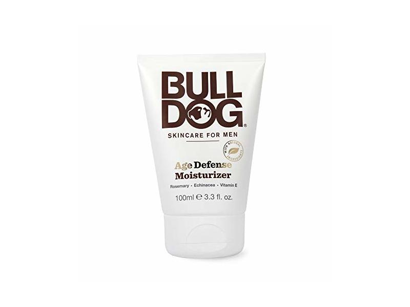 Bulldog Men's Skincare and Grooming Age Defense Moisturizer, 3.3 Ounce